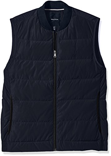 Nautica Mens Quilted Down Blend Vest