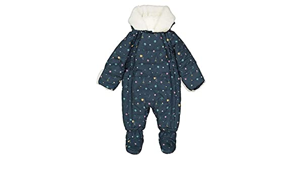 83d1967e4 Amazon.com  La Redoute Collections Big Girls Snowsuit Lined with ...
