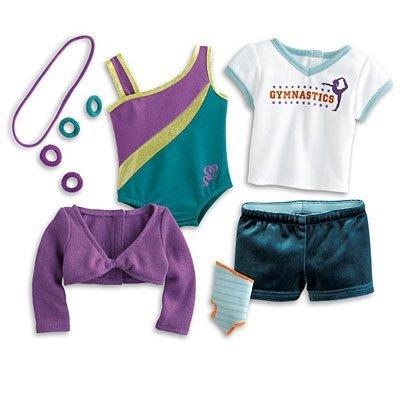 American Girl Doll of Year 2012 McKenna McKenna's Practice Wardrobe (Mckenna American Girl Doll)