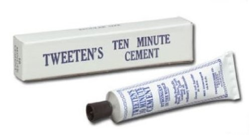 Ivory Pool Cue - Tweeten Cement Glue for Cue Tip Repair
