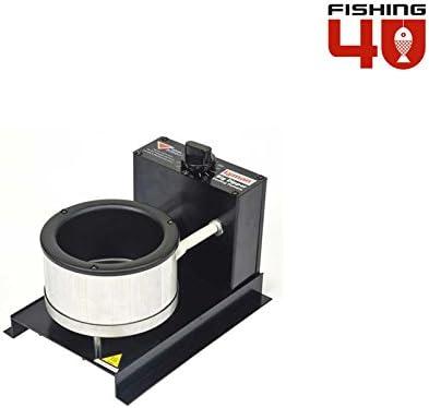Fishing4U Horno de fundición/4,5 kg 220/240 V Horno de fusión ...