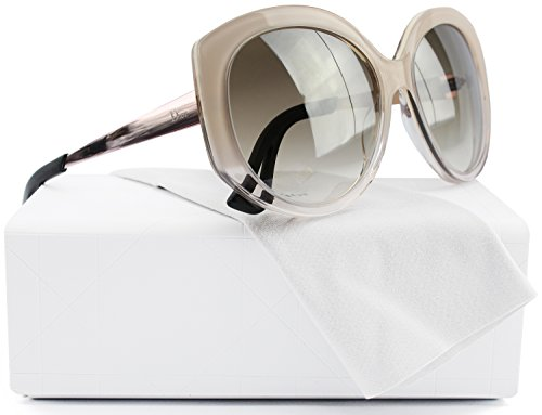 6168774cdcf Christian Dior Extase 1 S Sunglasses Ivory Powder Beige w Brown Gradient  (0KWA) KWA IQ 58mm Authentic