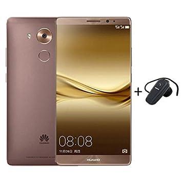 Huawei Mate 8 4GB+64GB Smartphone Mocha Gold + Bluetooth Earphone ...