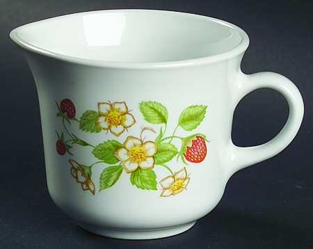 Corelle Strawberry Sundae Creamer