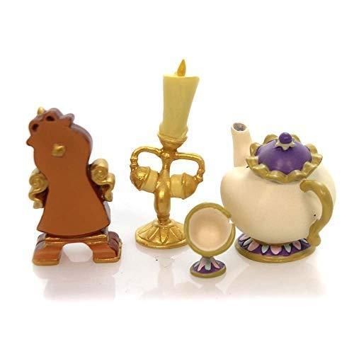 Enesco Disney Showcase Beauty and The Beast Figurine Set, Multicolor
