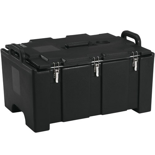 - Cambro 100MPC110 Camcarrier Black Insulated Food Pan Carrier