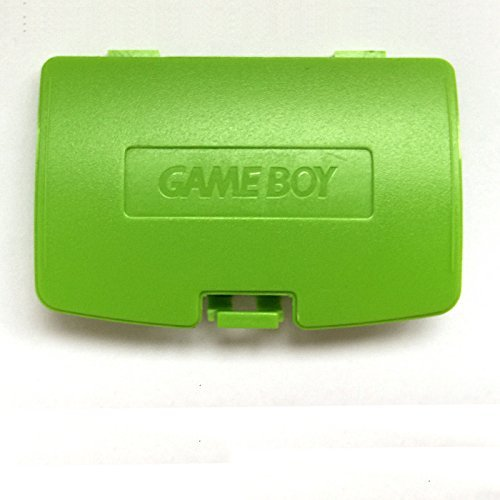 Game Battery Boy Cover Color (Gameboy Color GBC Game Boy Colour Replacement Battery Cover - Apple Green)