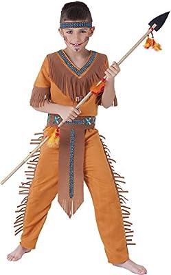Rubies - Disfraz de indio Sioux, para niños, talla S (S8424-S ...
