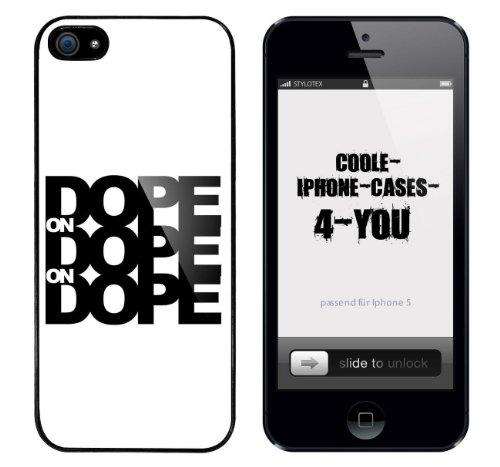 Iphone 5 / 5S Schutzhülle Dope on Dope on Dope - schwarzer Rahmen