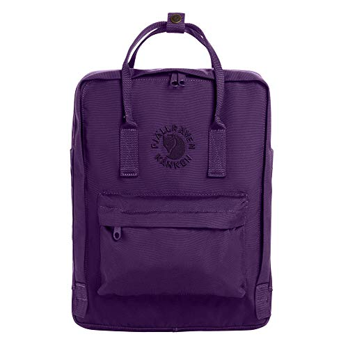Fjallraven - Re-Kanken Recycled and Recyclable Kanken Backpack for Everyday, Deep Violet