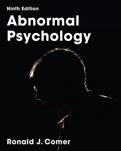 Download Pdf Abnormal Psychology By Ronald J Comer Full Books