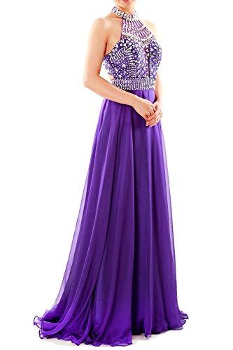 Halter Sleeveless Party Prom Regency Gown Dress Women High Evening MACloth Neck Long Rw5FI5xq