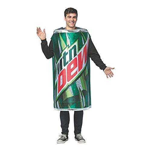 Soda Halloween Costume (Mountain Dew-Get Real Can)