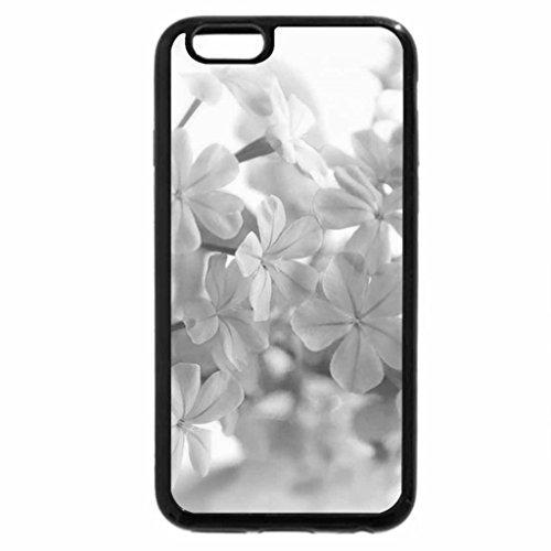 iPhone 6S Plus Case, iPhone 6 Plus Case (Black & White) - Nostalgic Blue
