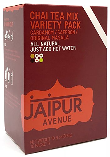 Jaipur Avenue Chai Tea Mix Variety (15-Count Box) from Jaipur Avenue