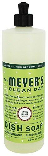 Mrs. Meyer's Clean Day Dish Soap - Iowa Pine - 16 oz