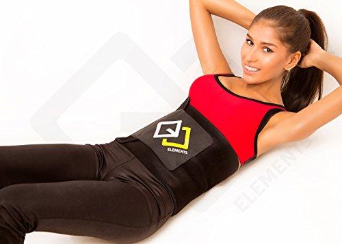 gjelements ceinture abdominale de sudation avec soutien lombaire homme femme taille rglable. Black Bedroom Furniture Sets. Home Design Ideas