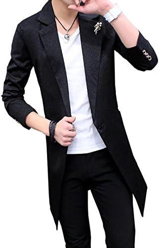 スプリングコート メンズ トレンチコート ロング コート ジャケット 薄手 春 通勤 通学 大きいサイズ