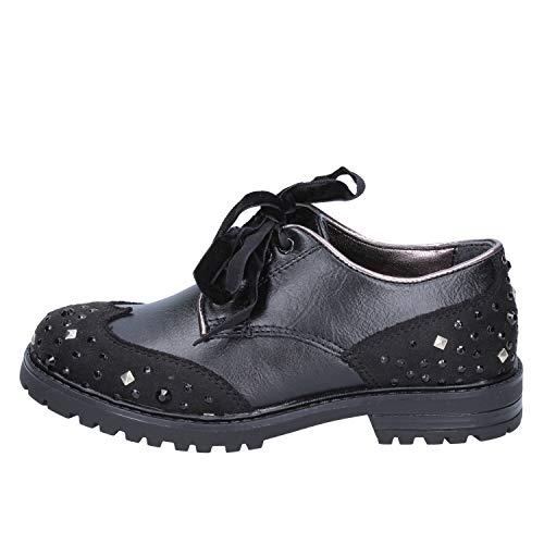 DIDI BLU Oxford-Flats Baby-Girls Leather Black 12-12.5 US