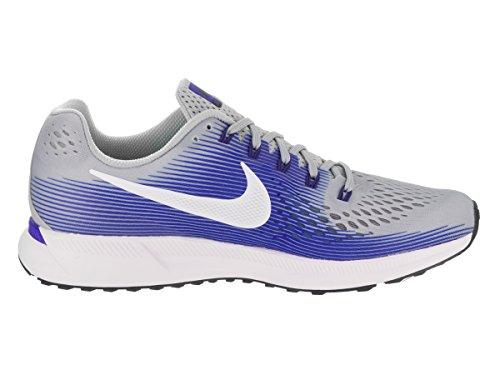 Baskets Nike Air Zoom Pegasus 34 Blanc Bleu Clair Gris 880555-007 - 42, Bleu Clair