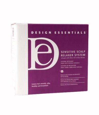 Design Essentials Sensitive Scalp Relaxer System Kit 20 Applications