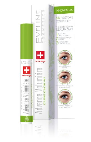 41t09zJfNaL Eveline Eyelash Growth Activator Concentrated Serum 3 In 1 Advance Volumiere
