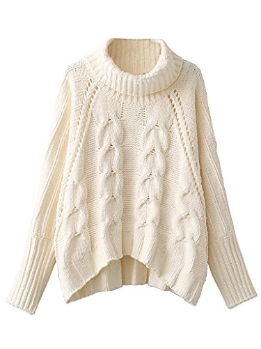 Choies Womens Acrylic Chunky Sweater