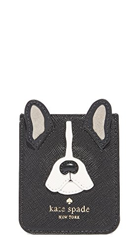 Kate Spade New York Antoine Applique Adhesive Phone Pocket, Black Multi, One Size