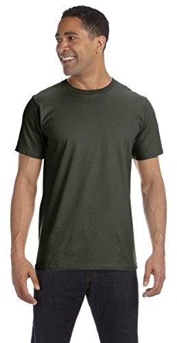 2010 Mens T-shirt Organic - Anvil Men's Eco-Friendly Lightweight Tee, City Green, XXX-Large