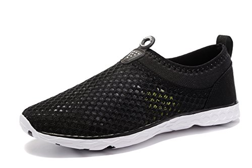 Kenswalk Men's Aqua Water Shoes Lightweight Beach Swim Pool Walking Sneakers (US 12, (Aqua Mens Sneakers)