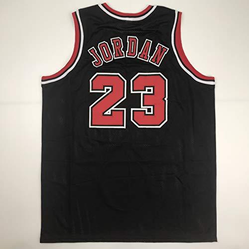 853b0cab4da3e7 Unsigned Michael Jordan Chicago Black Custom Stitched Basketball Jersey  Size Men s XL New No Brands Logos