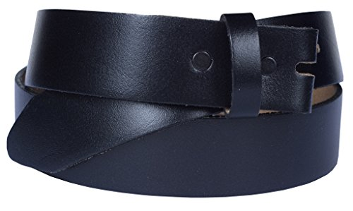Changeable Buckle (Belt for Buckles 100% Top Grain One Piece Leather, 1.75