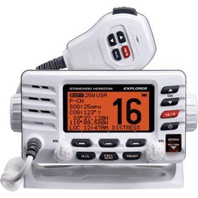 Standard Horizon GX1600W VHF, Explorer, Optional Remote, White, by Standard Horizon