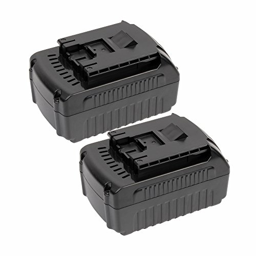VANON 4.0Ah 18V Li-ion Rechargeable Replacement Battery for Bosch BAT609 BAT609G BAT618 BAT618G BAT619 BAT619G BAT622 BAT620-2PK SKC181-202L Cordless Power Tools (2 Pack) (18v Battery Bosch)