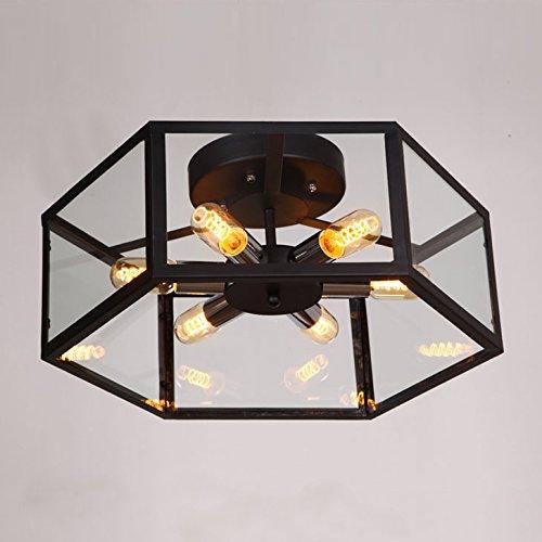 Industrial Vintage Barn Metal Hanging Ceiling Light - LITFAD 22