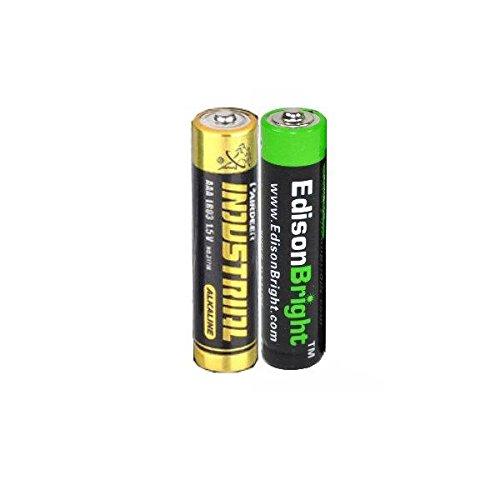 Fenix E05 black CREE XP-E2 85 Lumen LED keychain flashlight with EdisonBright AAA alkaline battery - http://coolthings.us