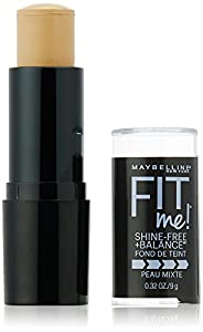 15. Maybelline New York Fit Me! Oil-Free Stick Foundation, 0.32 Ounce
