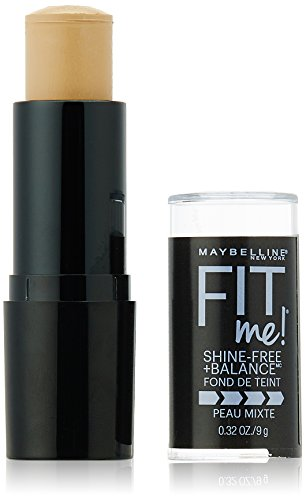 Maybelline New York Fit Me! Oil-Free Stick Foundation, 220 Natural Beige, 0.32 Ounce