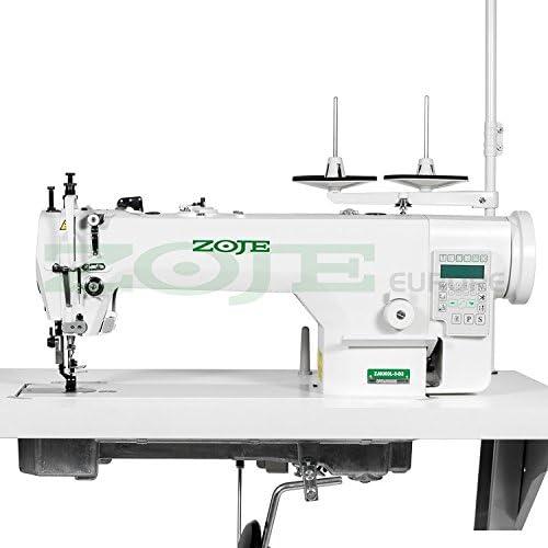 zoje – Industrial máquina de coser – piensos compuestos – totalmente automática – para tapicería y piel – Construido en motor – nuevo.: Amazon.es: Hogar