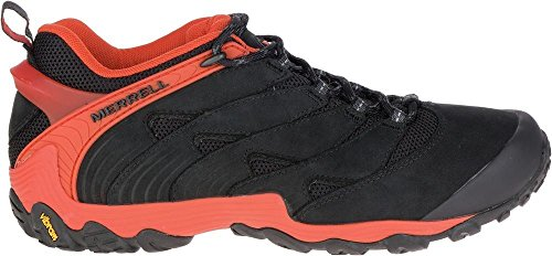 Merrell Chameleon 7 Zapatillas Hombre Sneakers J12055 NEGRO rojo (fire)