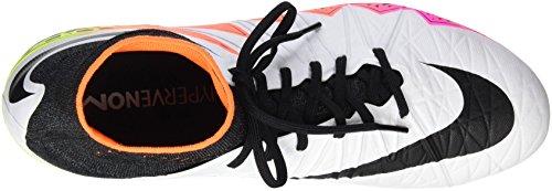 Nike Uomini Hypervenom Phantom Ii Sg Per Scarpe Da Calcio Bianco (bianco / Nero-arancio Totale Volt)