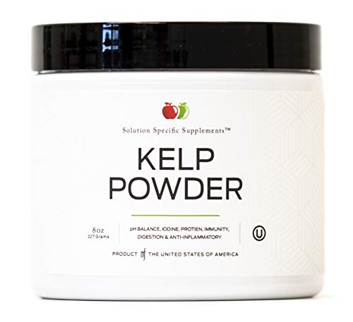 Sea Kelp Extract Powder Supplement - Bulk Raw Dry Pure Kelp Seaweed Powder 8oz 45 Serving Thyroid, Iodine, Digestion