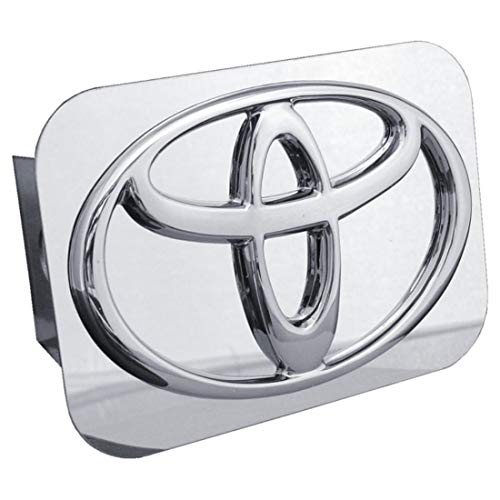 TOYOTA Chrome Logo Tow Hitch Cover (Plug Chrome Trailer Hitch)