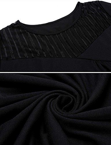 Mujer Camiseta Negro Pongaps Para Para Negro Camiseta Para Pongaps Camiseta Mujer Mujer Pongaps YYqwCUxgZ