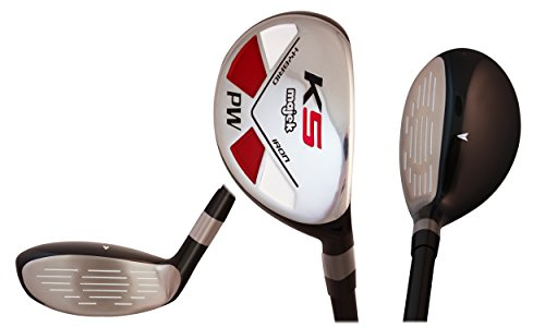 Senior Ladies Golf Clubs All Hybrid Set 55+ Years Womens Right Handed Majek Lady Full True Hybrid Complete Rescue Set which Includes: #5, 6, 7, 8, 9, PW Lady Flex New Rescue Utility A Lady Flex Club by Majek (Image #6)