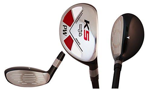 Majek Golf Petite Senior Lady PW Hybrid Lady Flex Right Handed New Rescue Utility L Flex Club (Petite - 5' to 5'3'') by Majek Golf