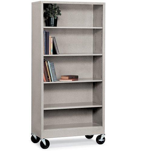 Metal Mobile Bookcase (Atlantic Metal Mobile Bookcase - 36X18x36