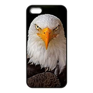 American Bald Eagle Custom Cover Case with Hard Shell Protection for Iphone 5,5S Case lxa#823170