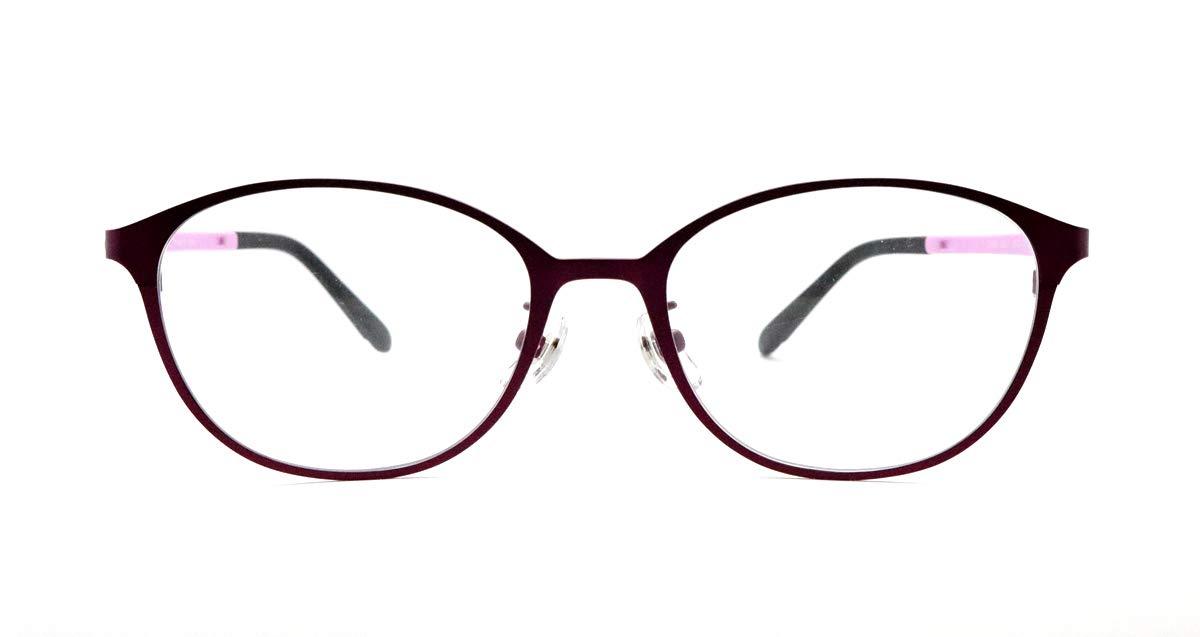ピント調整力補助機能付き ザ サプリメガネ PCメガネ ブルーライト94%カット 紫外線ほぼ100%カット スマホにも最適 2358(エンジ)(女性 狭め) PD 女性 狭め エンジ B07PT48BFQ