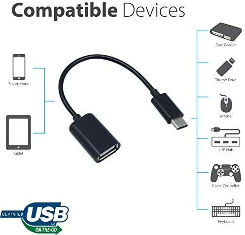 Black 1.5M PRO 5ft USB Type-C to USB Type-C for Samsung SM-G986ULBAXAA Hi Powered Cable